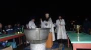 Крещение в Свято-Николаевском мужском монастыре