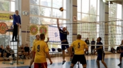 Пограничники тоже играют в волейбол