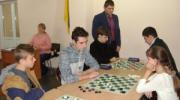 Спартакиада по шашкам: девчонки не отстают!