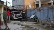 От камыша до иномарок: в Измаиле прошла череда пожаров