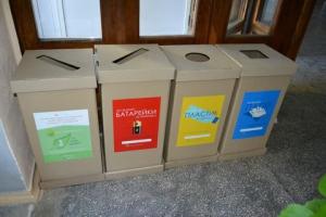 В университете сортировка мусора вошла в практику