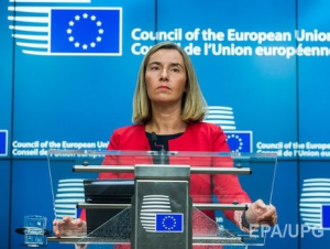 Могерини заявила, что к обсуждению реформы образования в Украине необходимо вернуться после выводов Венецианской комиссии
