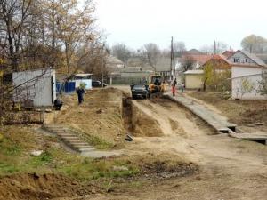 В районе Клушинской балки кипят работы