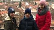 Ребята представляли Украину в Румынии