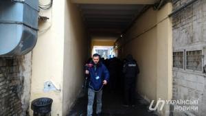 Полиция заблокировала Печерский райсуд из-за Саакашвили