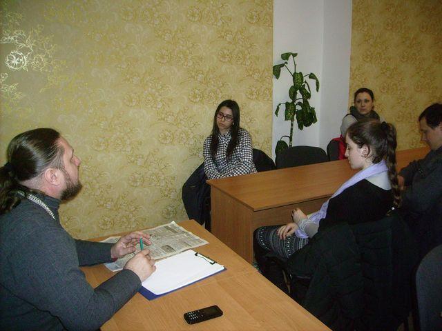 """Участники организации """"Голос молодой души"""" обсуждали духовные темы"""