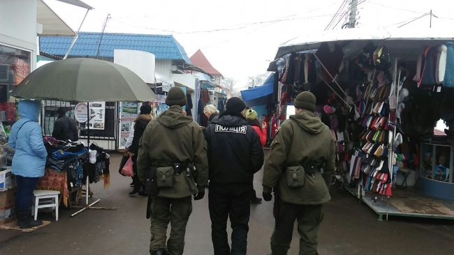 Измаильские правоохранители вместе с военнослужащими Национальной гвардии Украины осуществляют патрулирование