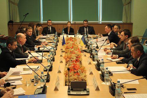 В Мининфраструктуры состоялся Транспортный диалог высокого уровня Украина - ЕС
