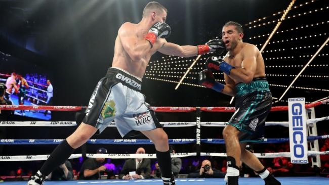 Александр Гвоздик завоевал титул временного чемпиона мира по версии WBC: яркие фото боя