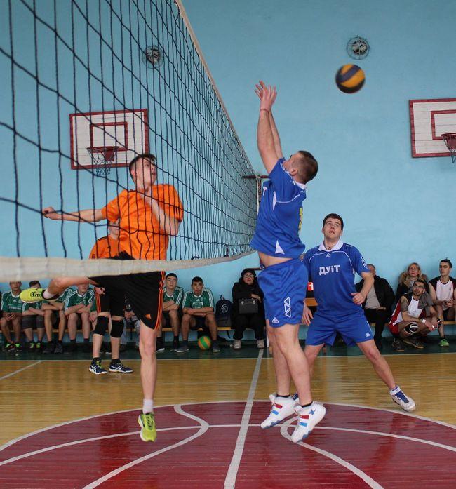 Первенство по волейболу среди студентов