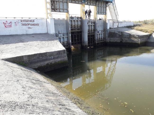 В Придунавье начали сброс воды из озёр