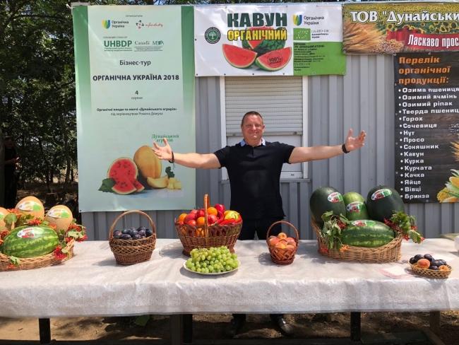 Органическая «коллекция» Романа Дяжука: в этом году фермер удивил урожаем батата