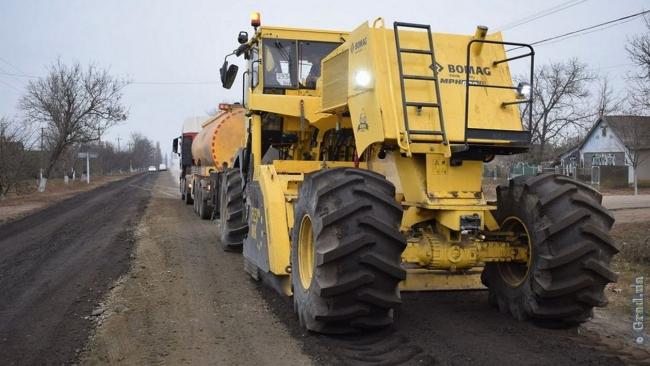 Одесская область - среди аутсайдеров по ремонту дорог