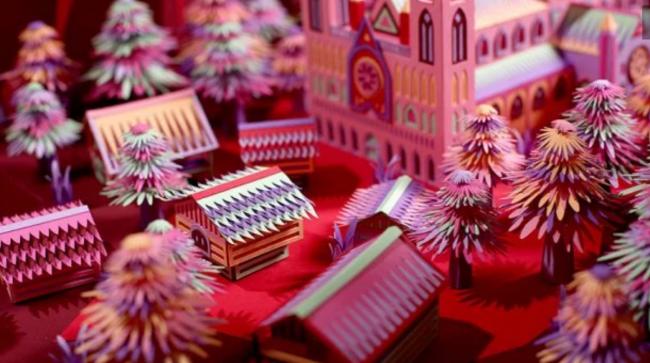 Художественный дуэт из Франции создает чрезвычайно сложные изделия из бумаги: яркие фото