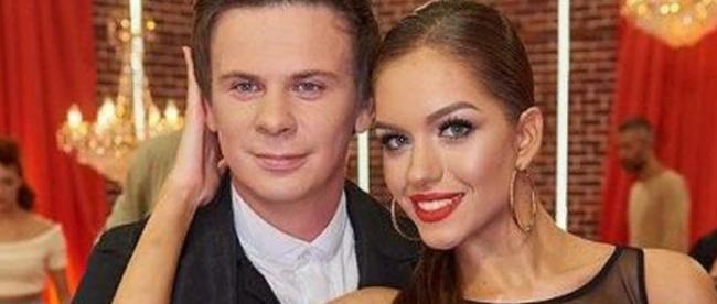 Дмитрий Комаров женился на красавице из Днепра Александре Кучеренко