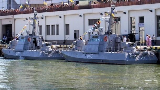 В Одессе представили новейшие военные катера для ВМС