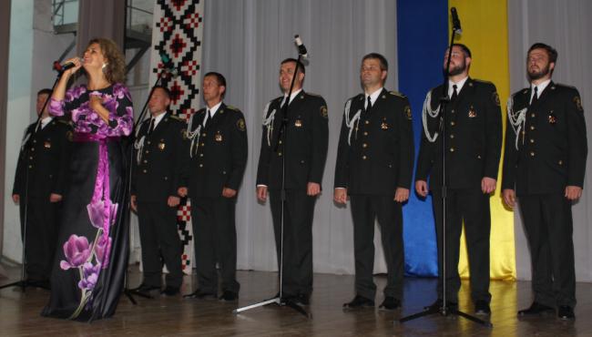 Киевский ансамбль песни и пляски Нацгвардии Украины дал концерт в Измаиле