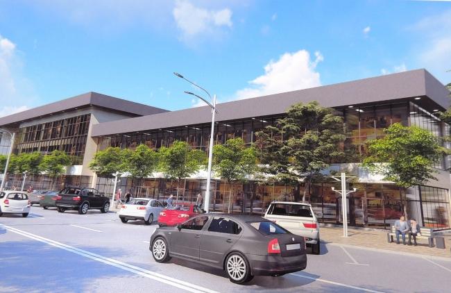 На месте бывшего рынка «Росинка» появится торгово-развлекательный центр