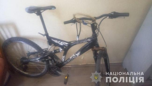 Ізмаїльські правоохоронці затримали підозрюваного у крадіжці велосипеда