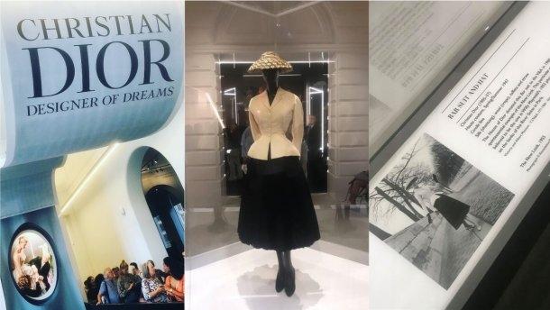 Лондонская выставка платьев Dior побила рекорд