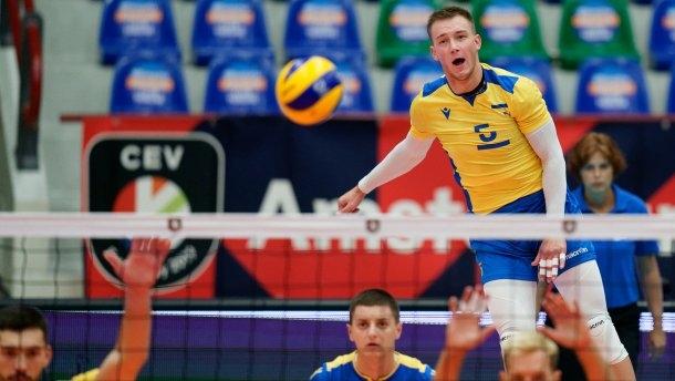 Сборная Украины по волейболу выиграла у Эстонии на Евро-2019