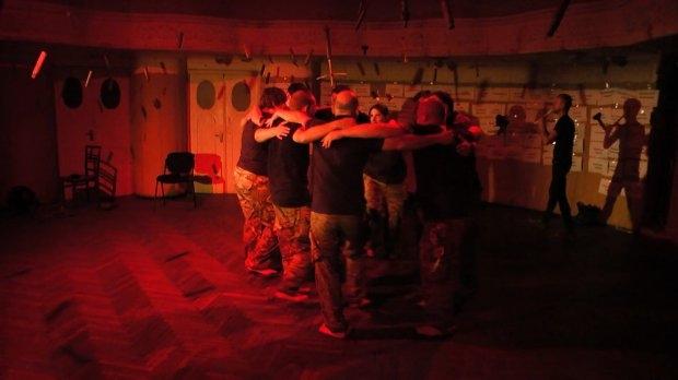 Ветераны АТО показали трогательное представление