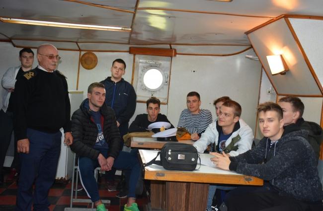 На УТС «Новый Донбасс» прошел тренинг для курсантов Дунайского факультета МРТ ГУИТ