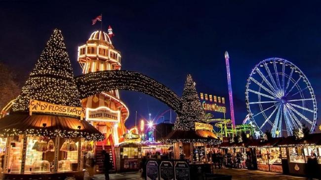 Лондонская зимняя сказка: как выглядит рождественский парк аттракционов