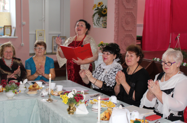 «Любава» и её гости в «Стране чудесного слова», или Литературные посиделки в Броске