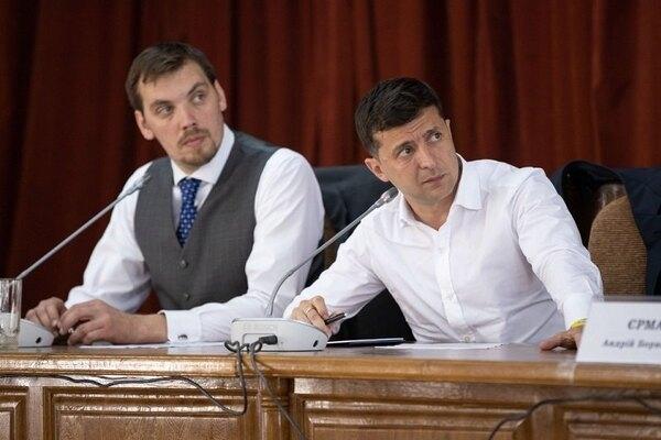 Премьер-министр Украины Алексей Гончарук написал заявление об отставке