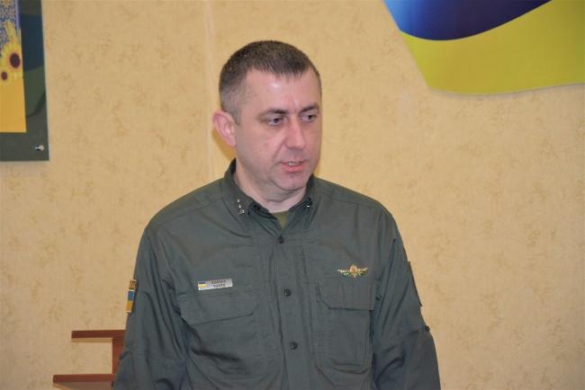 В Измаильском пограничном отряде представили нового начальника штаба