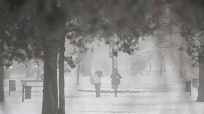 В Венгрии – пыль и смог