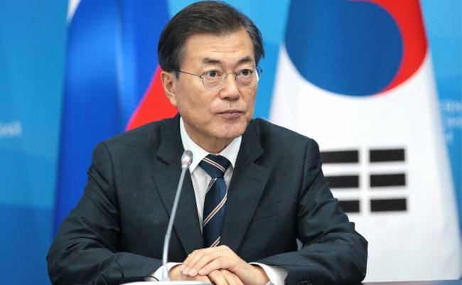 Украина надеется на развитие экономических связей и привлечение инвестиций из Кореи – разговор Зеленского и Мун Чжэ Ина