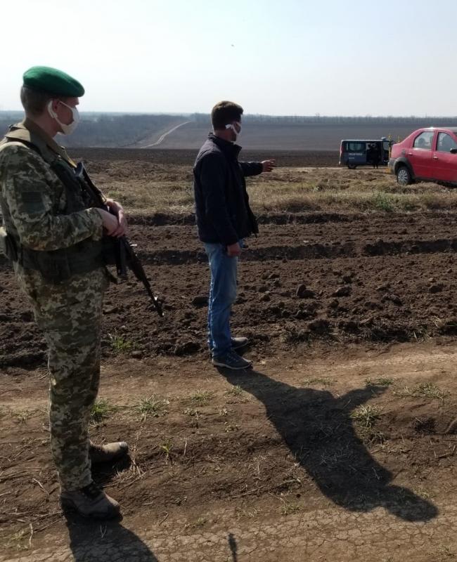 Пограничники после активных розыскных мероприятий задержали нарушителя границы