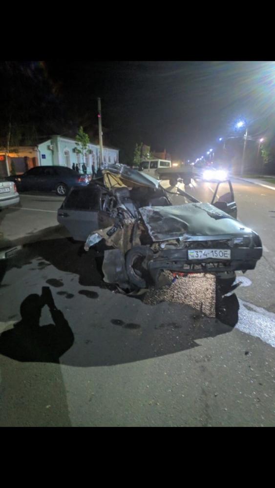 Авария в центре Килии