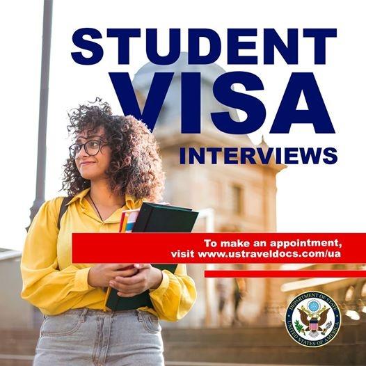 Посольство США снова выдает украинцам студенческие визы