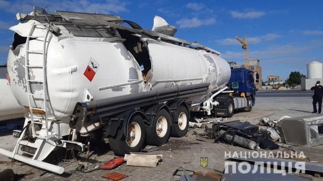 В Киеве взорвалась газовая автоцистерна, есть погибший