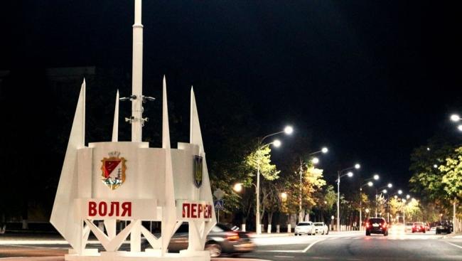 """Обновлённая стелла на """"кругу"""" площади Мира"""