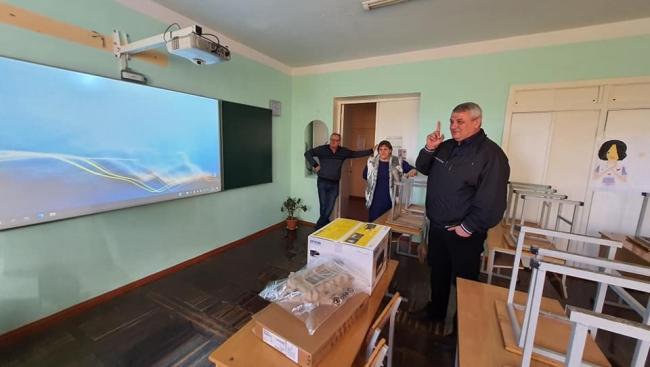 В школах Килийской ОТГ продолжают открывать интерактивные кабинеты
