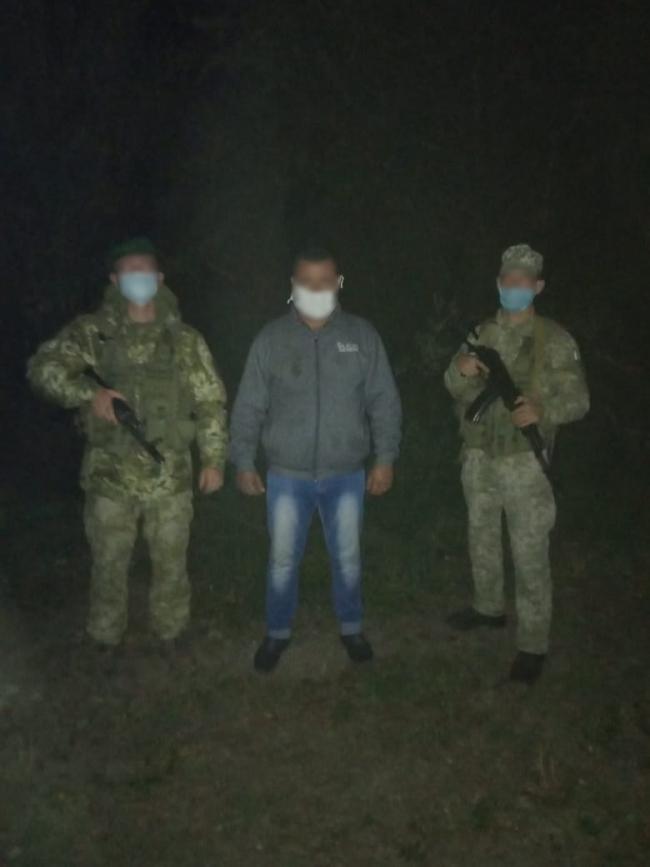Попытка незаконного пересечения границы для украинца оказалась неудачной