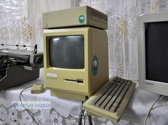 Компьютерное чудо в школьном музее села Новосельское