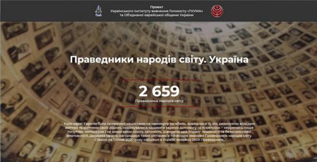 Еврейская община Украины создала проект, посвящённый украинцам, спасавшим евреев в годы Холокоста