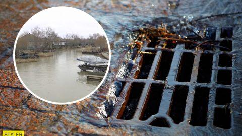 В Вилково из-за долга за свет в 7 тыс. гривен остановилась вакуумная канализация, город затапливает нечистотами