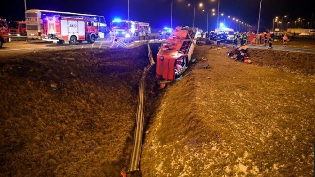 В Польше автобус с украинскими попал в ДТП, шестеро погибших