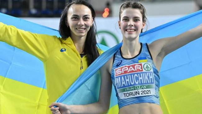 Магучих - чемпионка Европы по прыжкам в высоту, Геращенко - вторая