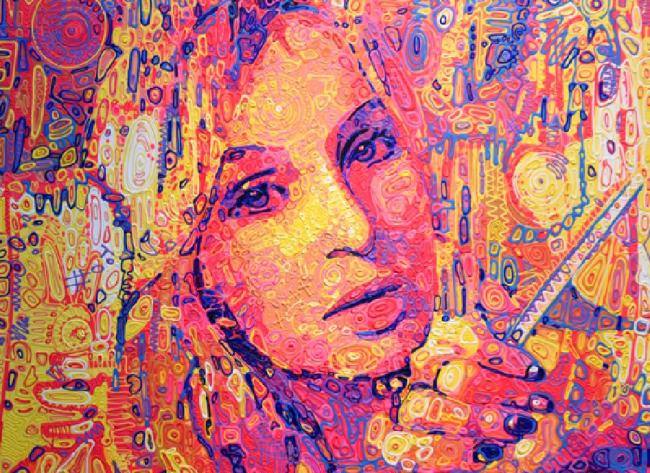 Ускользающие формы и яркие контрасты: одесская художница воплотила свои мысли о мире
