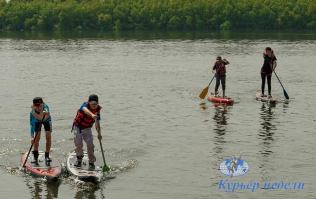 В Измаиле соревновались юные каякеры (фото и видео)