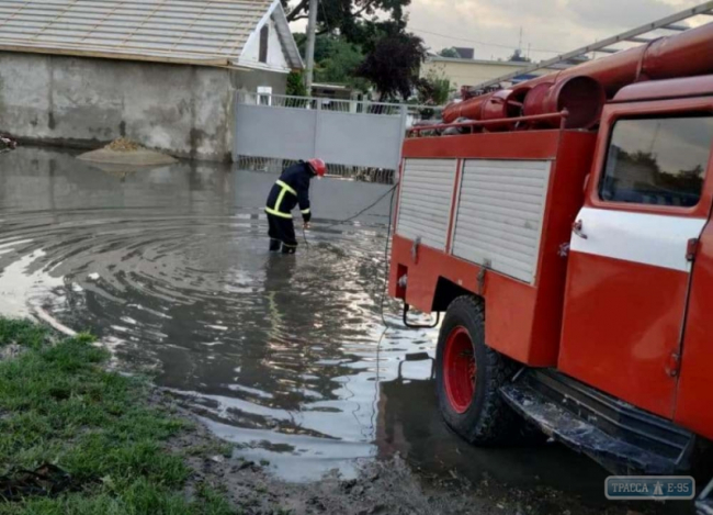 Ливни подтопили дома в Одесской области