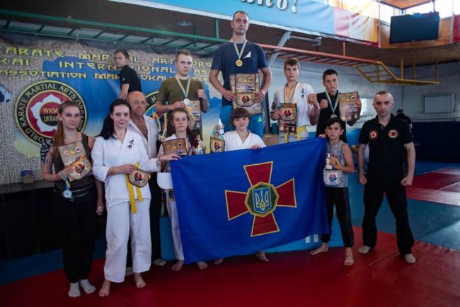 Каратисты Измаильщины в очередной раз блеснули на чемпионате Одесской области