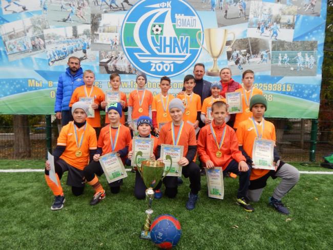В трёхдневном футбольном турнире Dunay Cup победили измаильчане!